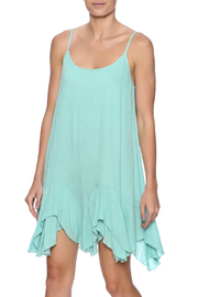 Entro Mint Summer Dress - Front cropped