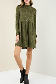 Entro Mock Neck Dress - Product Mini Image