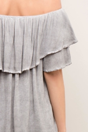 Entro Off-The-Shoulder Ruffle Top - Other