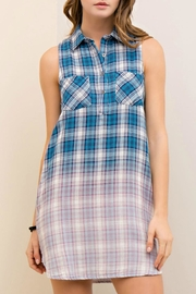Entro Ombre Plaid Dress - Product Mini Image