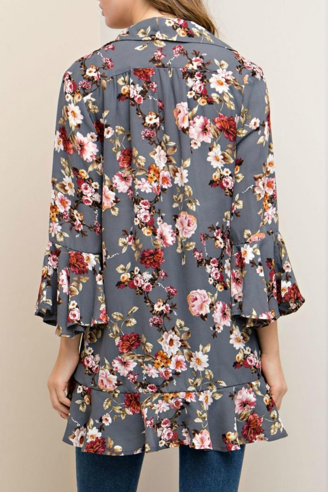 Entro Open Kimono Cardigan from Franklin by Gin-O Boutique ...