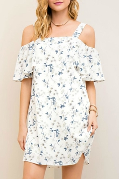 Entro Open Shoulder Dress - Product List Image