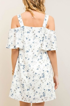 Entro Open Shoulder Dress - Alternate List Image