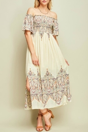 Entro Paisley Midi Dress - Product Mini Image