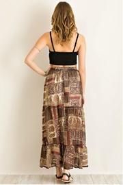 Entro Paisley-Print Maxi Skirt - Side cropped