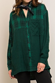 Entro Plaid Button Down - Product Mini Image