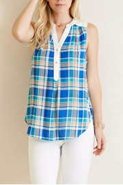 Entro Plaid Button Down Top - Product Mini Image