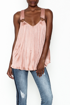 Shoptiques Product: Pleated Swing Top