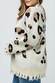 Entro Plus Leopard Sweater - Front full body