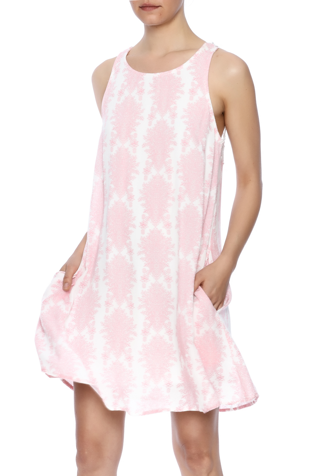 70130d016e6 Entro Pretty In Pink Dress from Buffalo by BeBe Mills — Shoptiques