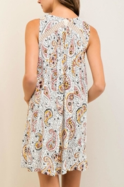 Entro Printed Dress - Front full body