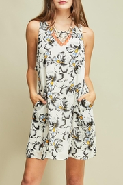 Entro Printed Dress - Front cropped
