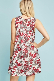 Entro Printed Dress - Side cropped