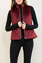 Entro Quilted Velvet Vest - Product Mini Image