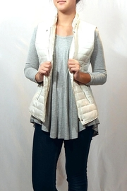 Entro Quilted High Neck Vest - Front cropped