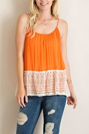 Entro Rayon Tank Top - Product Mini Image