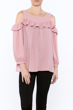 Shoptiques Product: Carnation Pink Loose Top