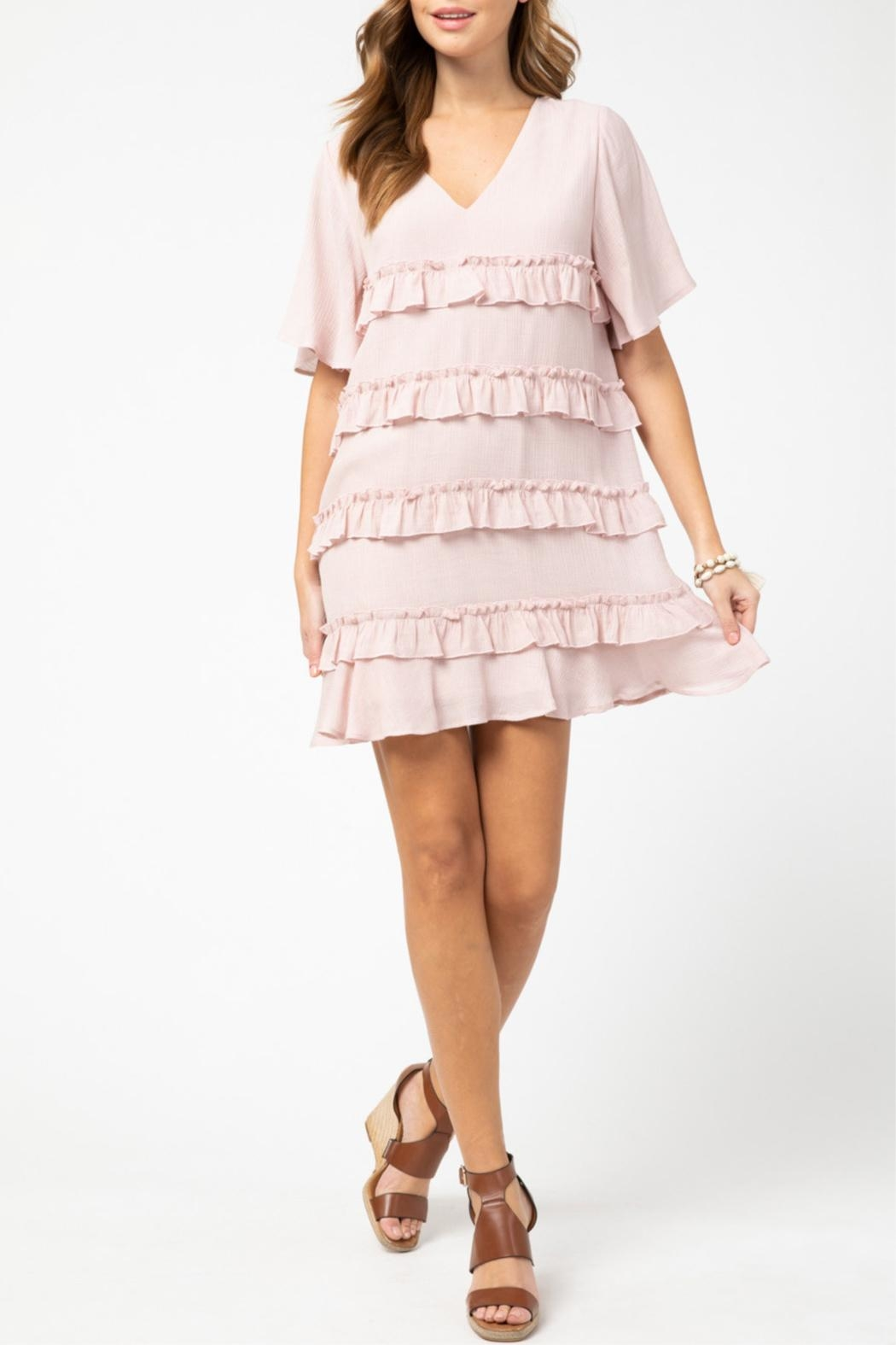 Entro Ruffle Detail Dress - Main Image