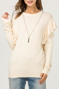 Entro Ruffle Detail Sweater - Product List Image