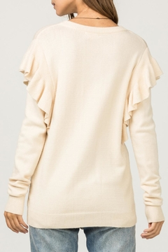 Entro Ruffle Detail Sweater - Alternate List Image