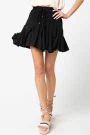 Entro Ruffle Skirt Drawstring Waist - Product Mini Image