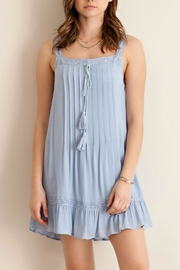 Entro Ruffle Slip Dress - Product Mini Image