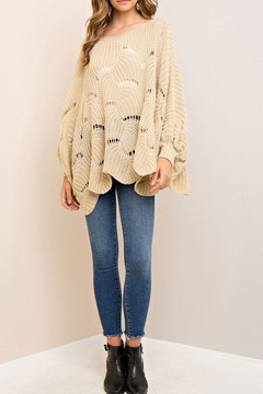 Shoptiques Product: Scallop Edge Sweater