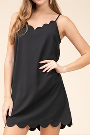 Entro Scallop Trim Dress - Product Mini Image