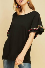 Entro Scoop Neck Top - Front cropped