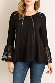 Entro Scoop Neckline Top - Product Mini Image