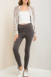 Entro Self-Tie Detail Leggings - Product Mini Image