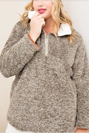 Entro Sherpa Fleece Pullover - Product Mini Image