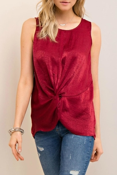 Entro Silky Knotted Top - Product List Image