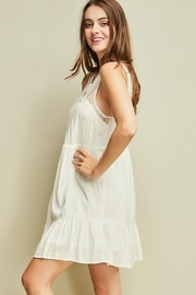 Entro Sleeveless Baby Doll Dress Cutout Details - Other