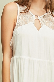 Entro Sleeveless Baby Doll Dress Cutout Details - Back cropped