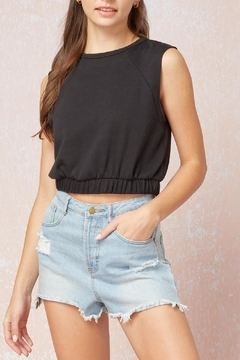 Entro Sleeveless Crop Top - Product List Image