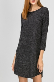 Entro Soft Heathered Dress - Product Mini Image