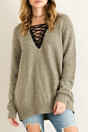 Entro Soft & Sexy Sweater - Front cropped