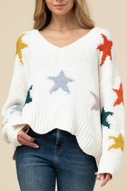 Entro Soft Star Sweater - Front cropped