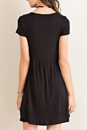 Entro Solid Baby-Doll Dress - Back cropped