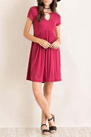 Entro Solid Baby-Doll Dress - Front cropped