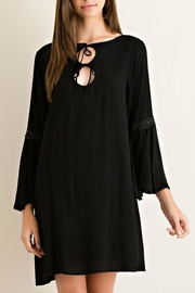 Entro Solid Flowy Dress - Product Mini Image
