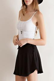 Entro Solid Ruffle Skirt - Other