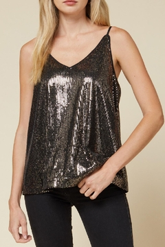 Entro Solid Sequin Tank - Product List Image