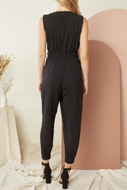 Entro Solid Sleeveless Jumpsuit - Other