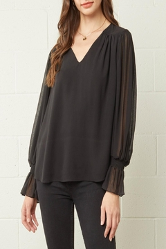 Shoptiques Product: Solid Textured Top
