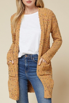 Entro Speckled Knit Cardigan - Product List Image