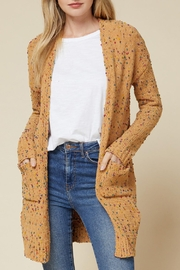 Entro Speckled Knit Cardigan - Product Mini Image
