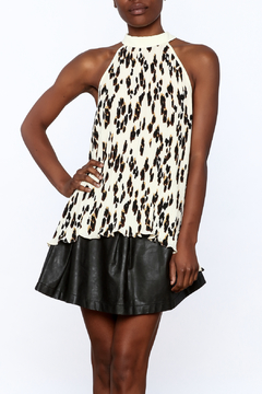 Shoptiques Product: Spotted Halter Tank