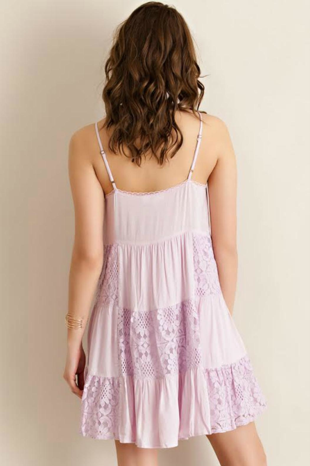 Entro Strappy Baby-Doll Dress - Side Cropped Image